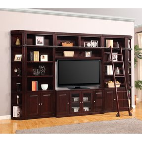 Entertainment centers with bookshelves 21