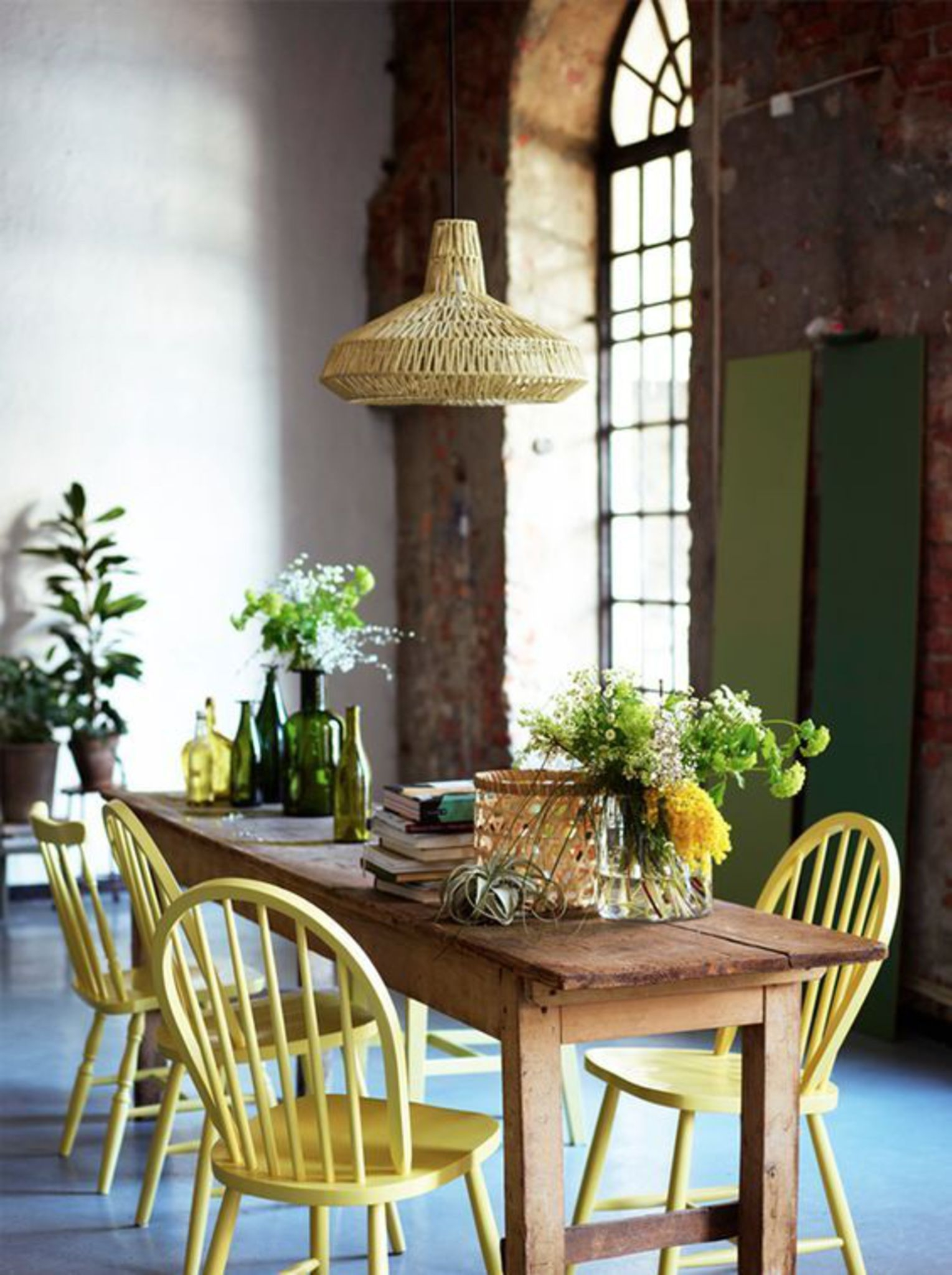 Ordinaire Long Skinny Dining Table