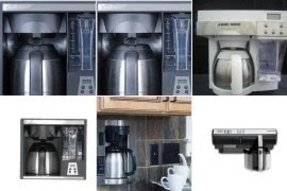 Mountable coffee maker