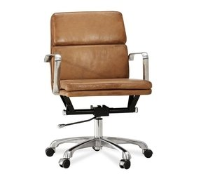 Nash leather executive swivel desk chair