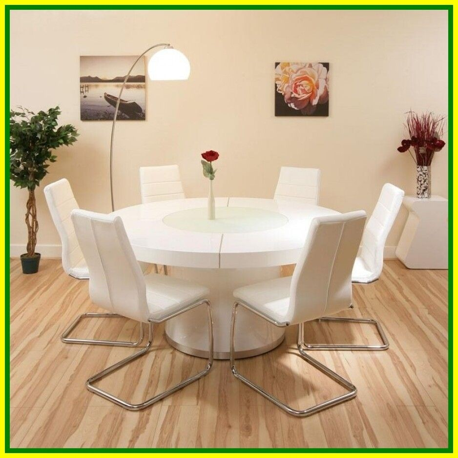 High Quality Round Glass Kitchen Table Sets 8 Nice Look