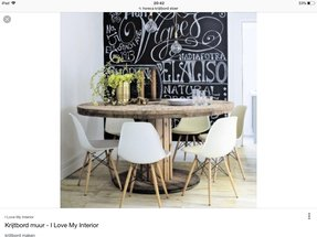 Rustic Industrial Dining Table - Foter