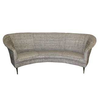 Small curved couch 13