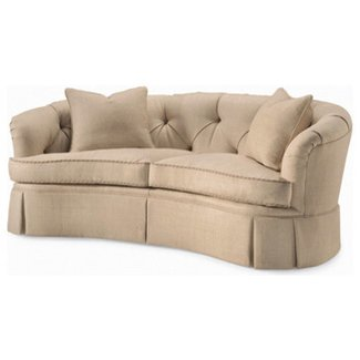 Small curved couch 4