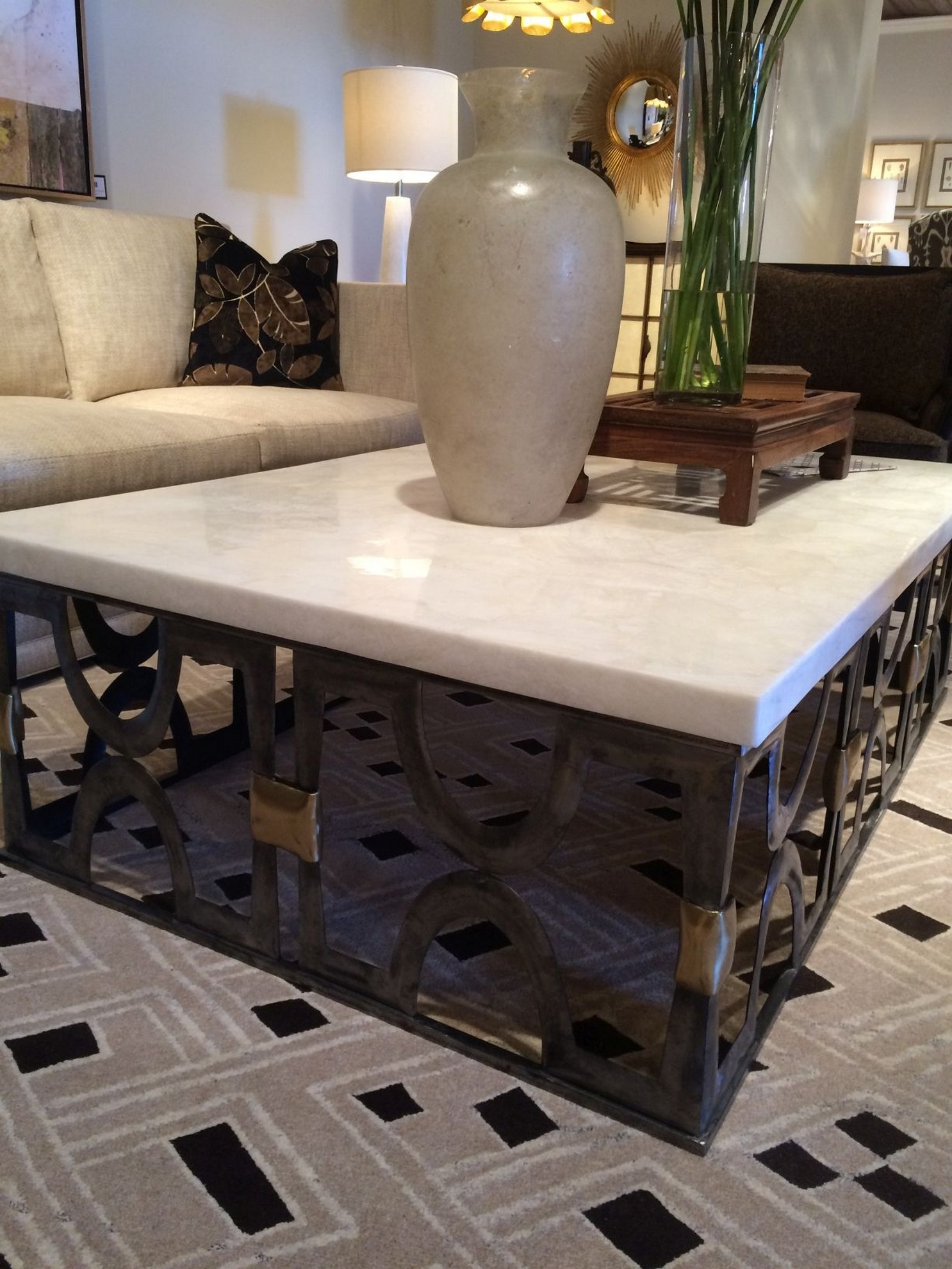 Stone coffee table set & Stone Top Coffee Table - Foter
