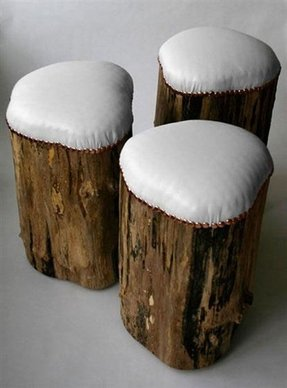 Timber bar stools 11