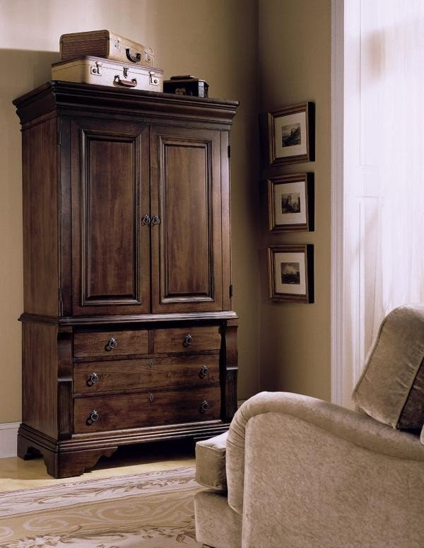 Superieur Tv Armoire With Doors And Drawers