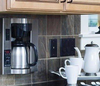 Incroyable Under Cabinet Coffee Maker