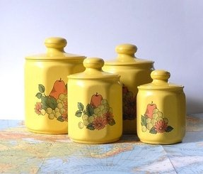 Yellow Kitchen Canisters - Ideas on Foter