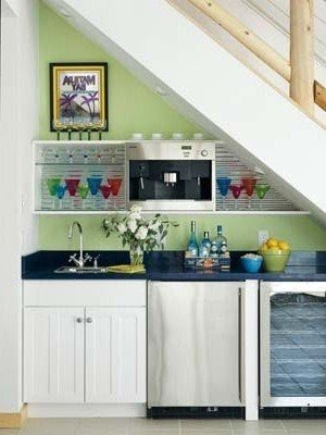 Wet Bar Designs For Small Spaces Ideas