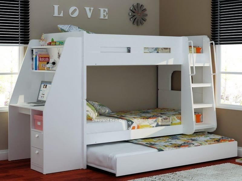 White trundle bed with storage 10 & White Trundle Bed With Storage - Foter