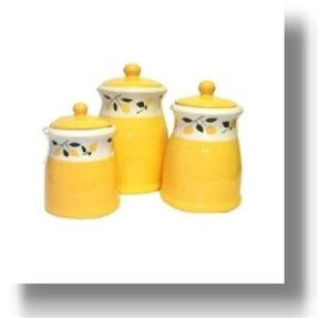 yellow canister sets kitchen yellow kitchen canisters foter 22788