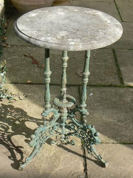 Etonnant Cast Iron Tables