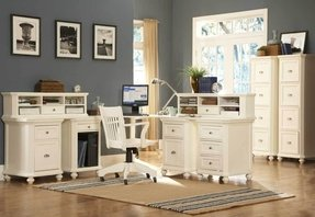 Corner desks white