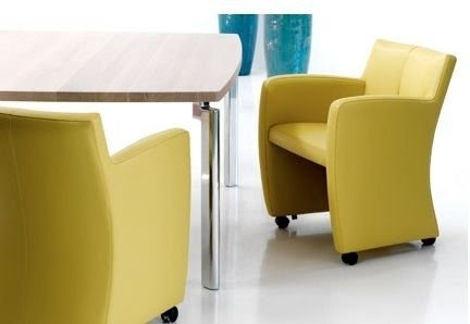 Nice Dining Chairs With Wheels