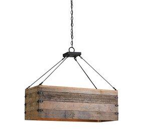 Wood chandelier lighting foter diy wood chandelier aloadofball Image collections