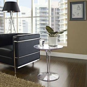 Clear Acrylic End Table Foter