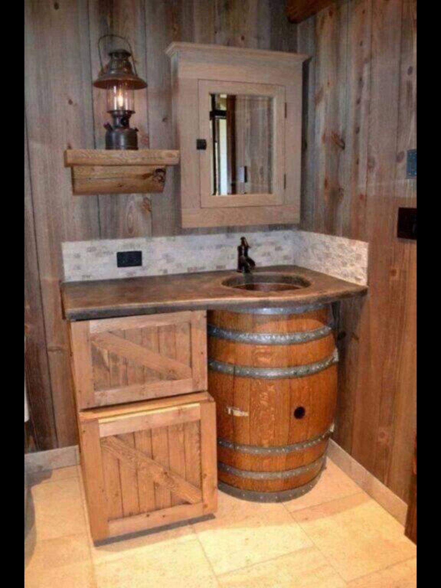 Farm Style Bathroom Sink