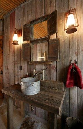 Galvanized kitchen sink