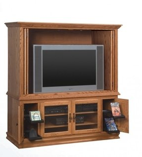 Heritage tv cabinets amish made entertainment center solid wood furniture