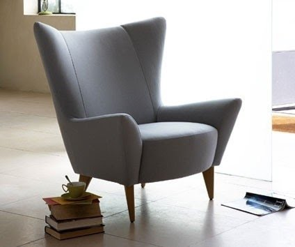 Charmant High Wing Back Chairs 12
