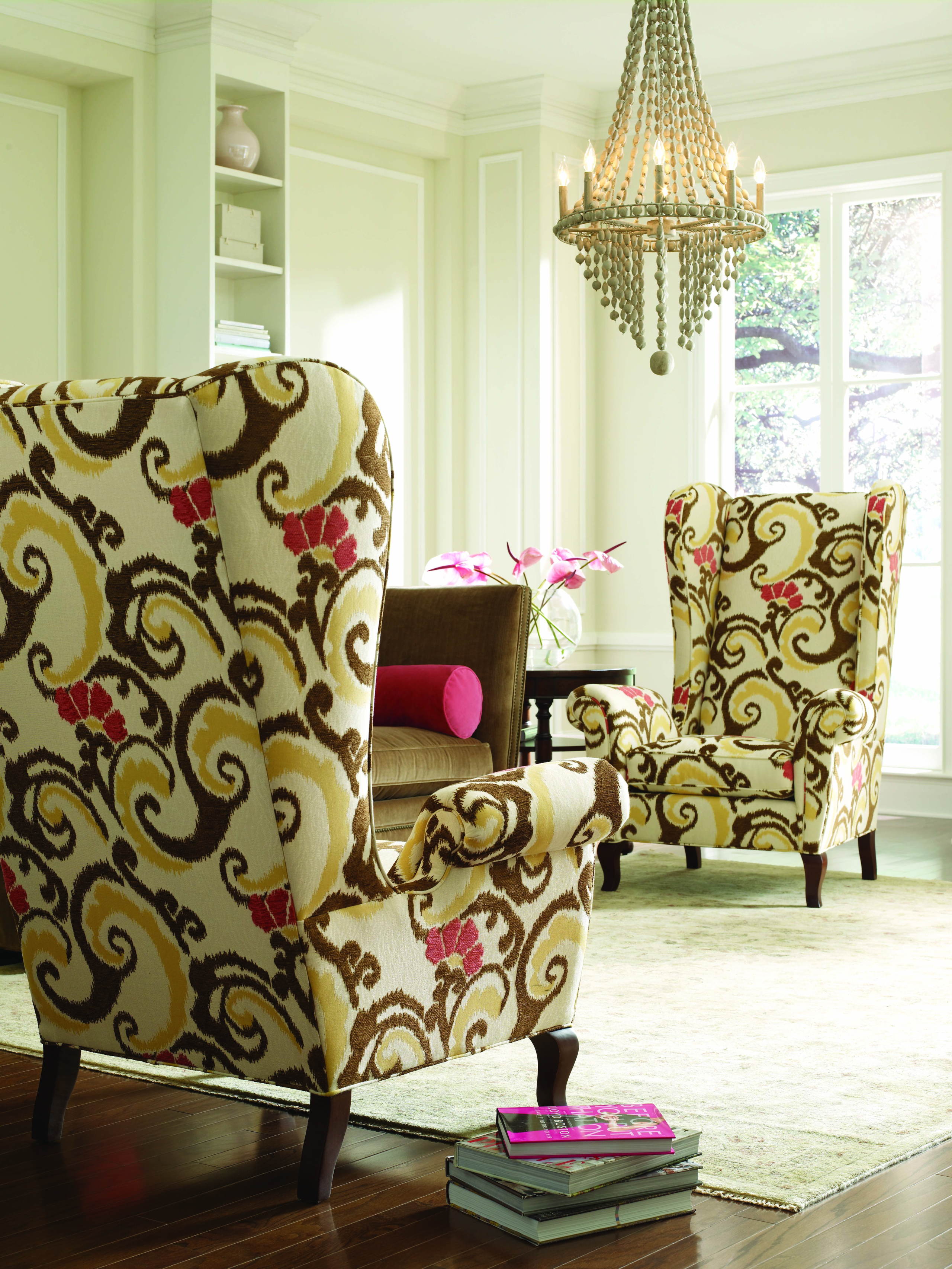 Gentil High Wing Back Chairs 14
