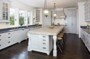 Kitchen islands with drawers 17