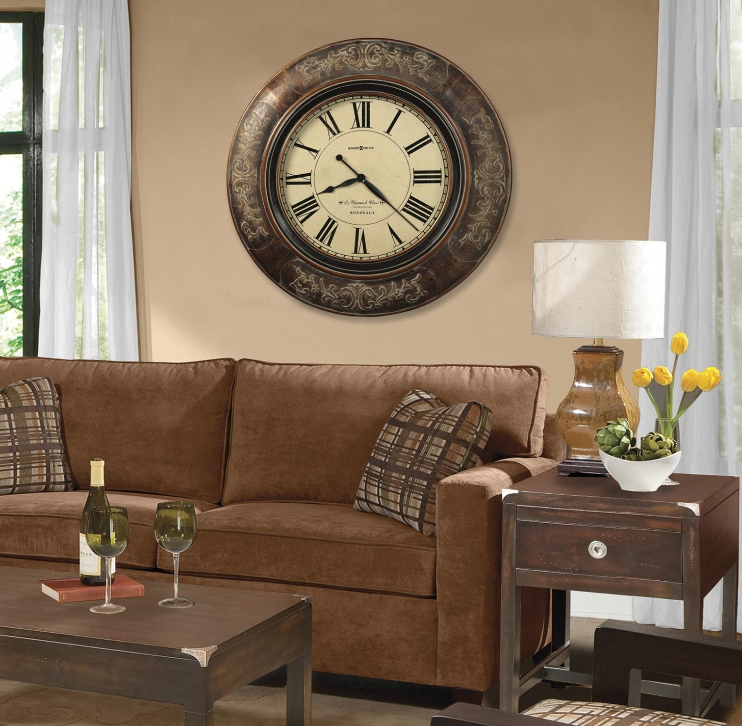 Large Wall Clocks Contemporary 1
