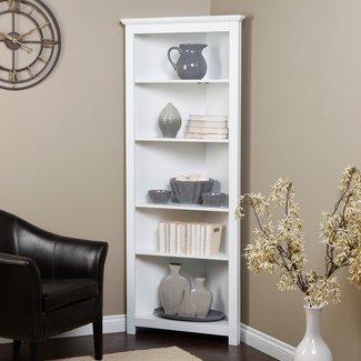 White Curio Corner Cabinet - Ideas on Foter