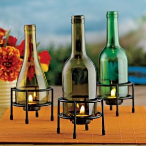 Metal wine holders 8