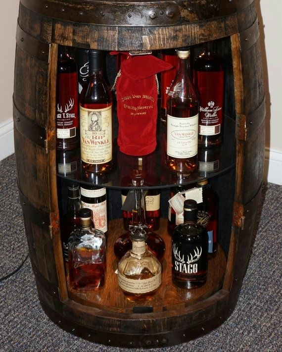 Charmant Mini Liquor Cabinet 24