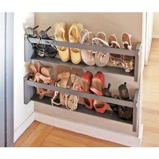 Narrow shoe storage 3