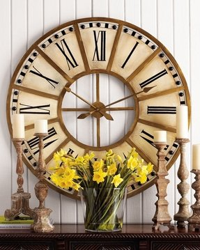 Oversized decorative wall clocks 8