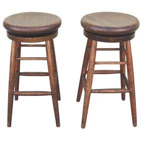 Oak Bar Stools Without Backs Ideas On Foter