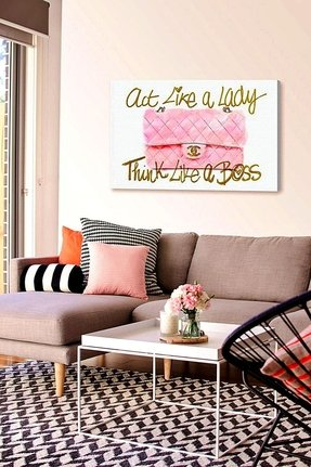 Pink living room furniture 25