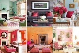 Pink Living Room Furniture