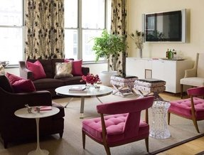 Pink Living Room Furniture Ideas On Foter