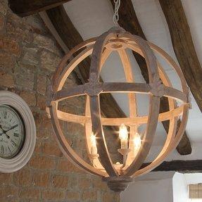 Wood chandelier lighting foter reclaimed wood light fixture aloadofball Gallery