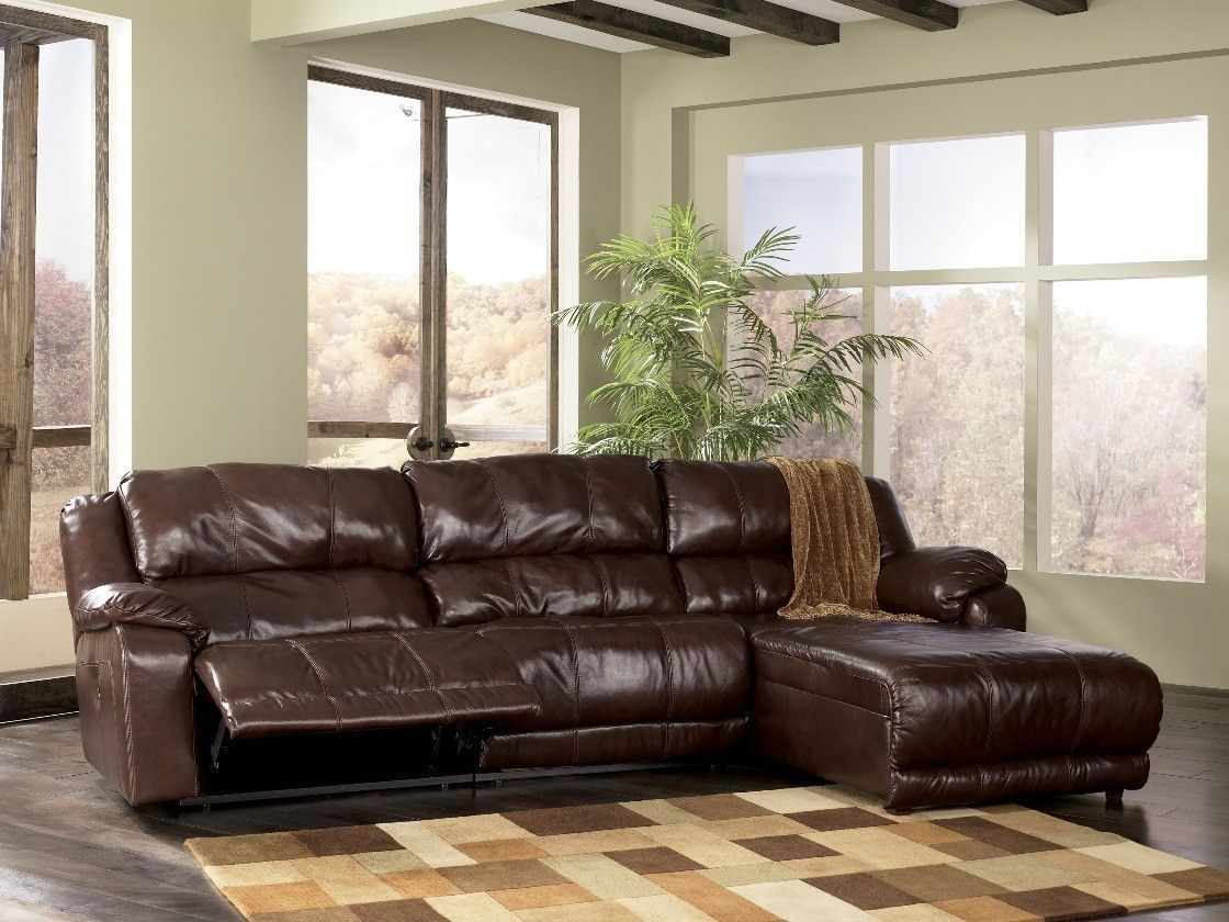 Small Reclining Sectional 1
