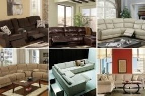 Small Reclining Sectional Foter