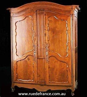 Charmant Solid Cherry Armoire