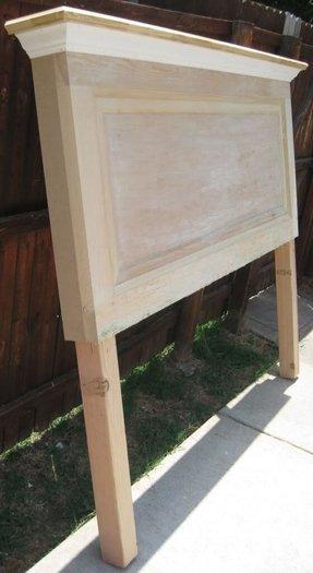 Solid Wood Headboard King
