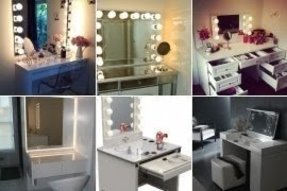 Lights For Vanity Table. Vanity dressing table with mirror and lights Dressing Table With Mirror And Lights  Foter