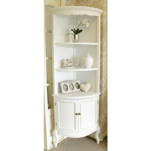 White curio corner cabinet 14  sc 1 st  Foter & White Curio Corner Cabinet - Foter