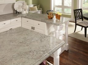 White Kitchen Island With Granite Top Foter