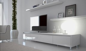 White tv unit 2