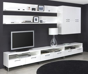 Superbe White Tv Unit 21