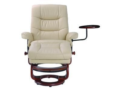 With storage tray storage ottoman padded arms seat back base  sc 1 st  Foter & Swivel Recliner With Ottoman - Foter