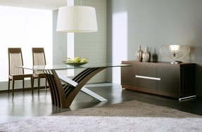 Wood Dining Table With Glass Top - Ideas on Foter