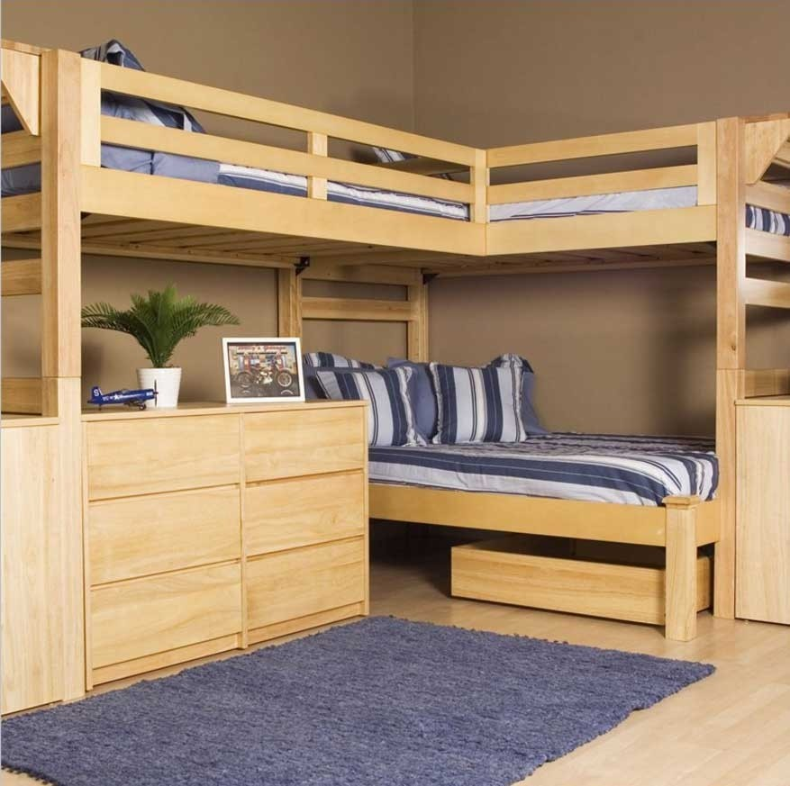 3 Bed Bunk Beds